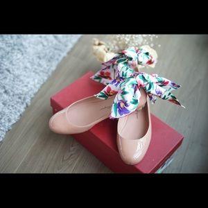 Salvatore Ferragamo Ankle Strap Ballet Flat 💕